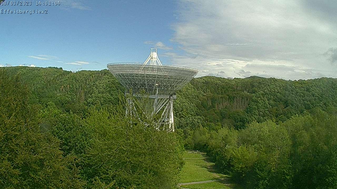 Webcam Max Planck Radioteleskop